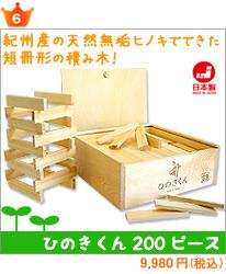 日本製積み木 ひのきくん